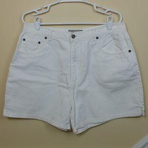 Generra White Denim Jean Shorts size 16